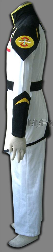 Zaft Uniform (White) Zaft Cosplay Costume from Gundam Seed Gunda-2