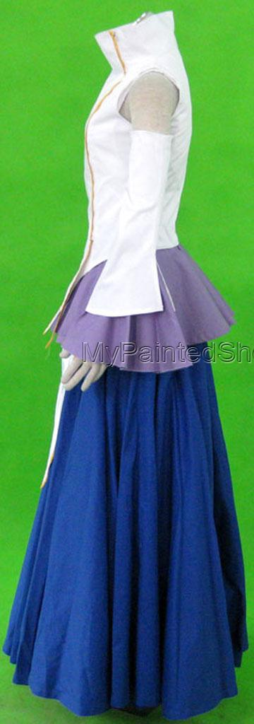 Lacus Cosplay Costume 1th from Gundam Seed Cosplay Costume-2