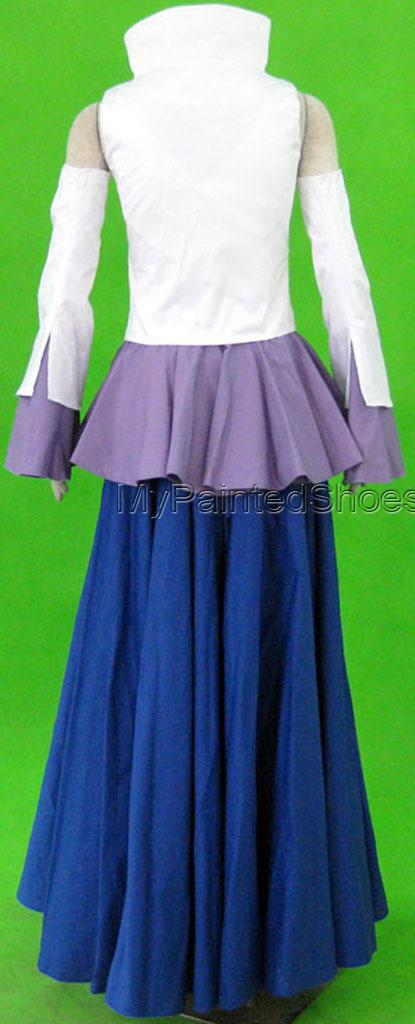 Lacus Cosplay Costume 1th from Gundam Seed Cosplay Costume-3