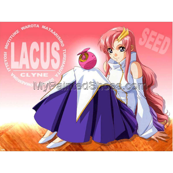 Lacus Cosplay Costume 1th from Gundam Seed Cosplay Costume