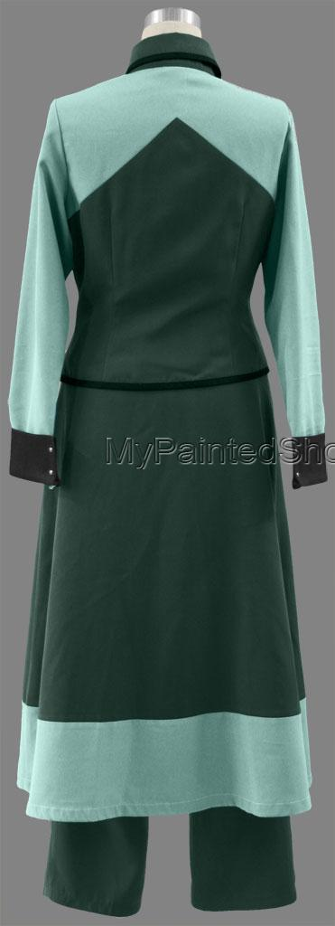 Mobile Suit Gundam 00 Louise Halevey Cotton Polyester Cosplay Co-4