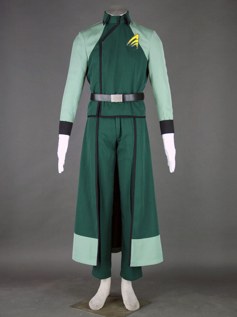 Mobile Suit Gundam 00 Cotton Polyester Cosplay Costume For Men-1