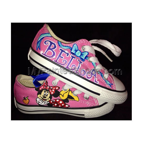 Custom Painted Shoes For Kid Low-top Painted Canvas Shoes