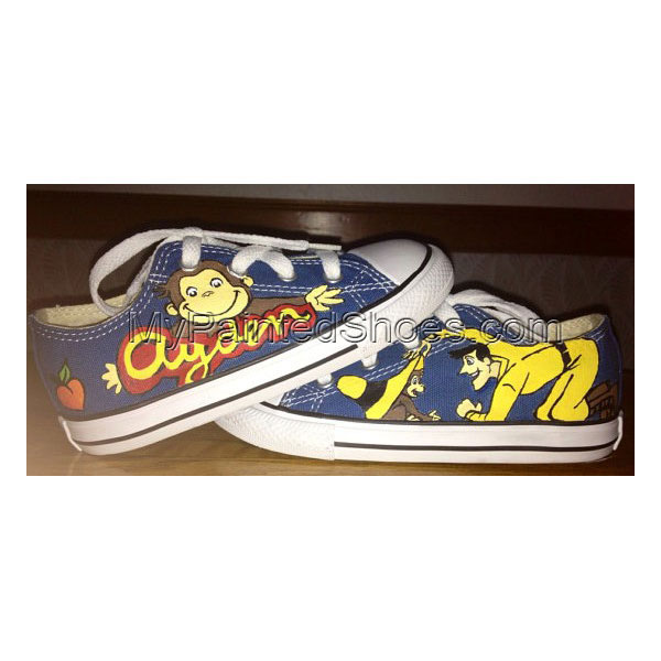 Custom Painted Shoes For Kid