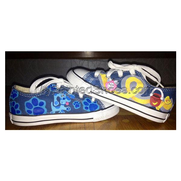 Custom Painted Shoes Low-top Painted Canvas Shoes For Kid
