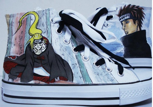 naruto shoes hand painted naruto shoes custom naruto shoes-1
