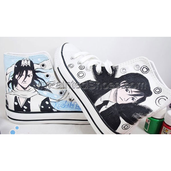 bleach hand painted shoes custom hand painted shoes bleach anime