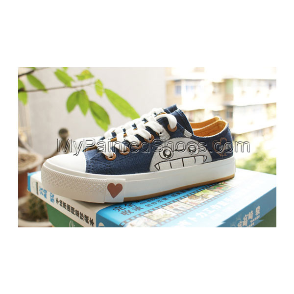 Totoro Shoes painted Totoro Shoes My Neighbor Totoro Shoes for k
