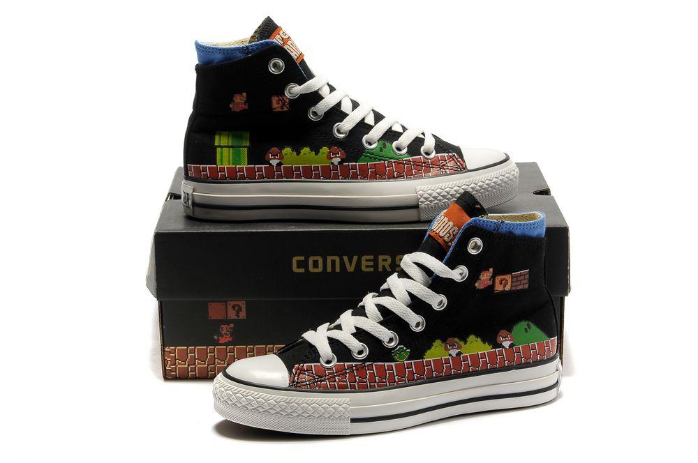 Super Mario Shoes for women/men Custom Super Mario Hand Painted-2