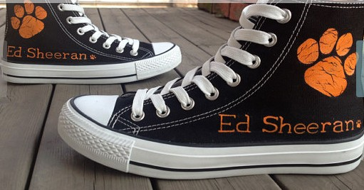 ED Sheeran Shoes painted ED shoes handpainted shoes-1