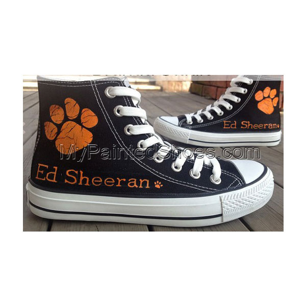ED Sheeran Shoes painted ED shoes handpainted shoes