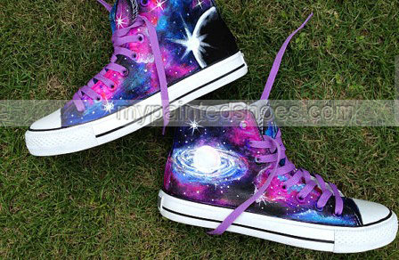 2013 Galaxy Shoes galaxy canvas shoes hand painted galaxy galaxy-2