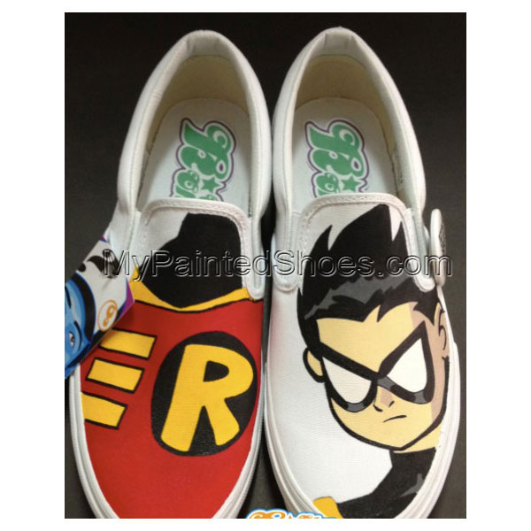 Robin Shoes Robin Slip-on Painted Canvas Shoes