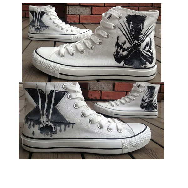 X-Men Christmas Gifts X-Men Hand Painted Shoes