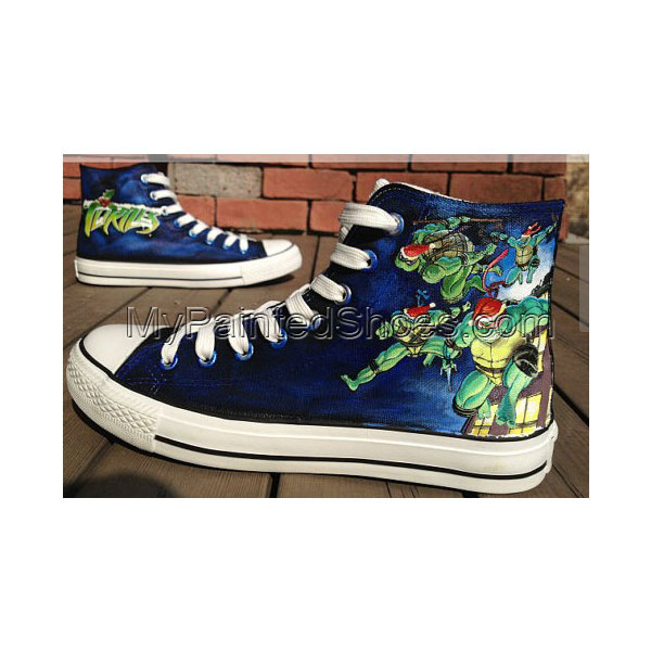 Teenage Mutant Ninja Turtles Hand Painted Shoes