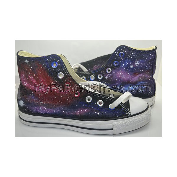 Galaxy Canvas Shoes Galaxy Canvas Shoes