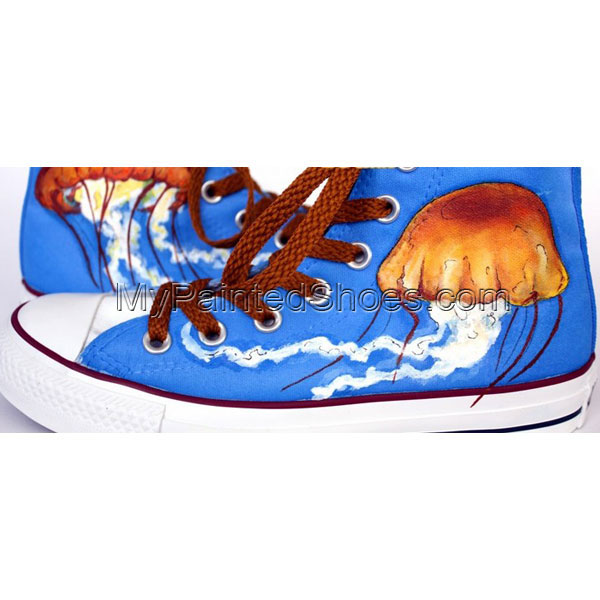 Medusas Shoes Medusas Hand Painted Canvas Shoes