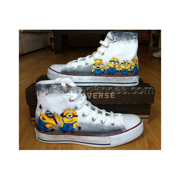Minion Custom Shoes Minion Hand Painted Canvas Shoes