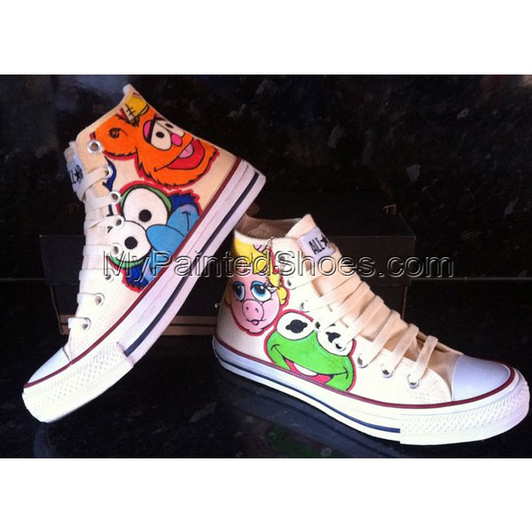Muppet Babies High-top Custom Shoes