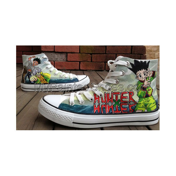 HUNTERxHUNTER Anime Shoes HUNTERxHUNTER Anime High-top Painted C