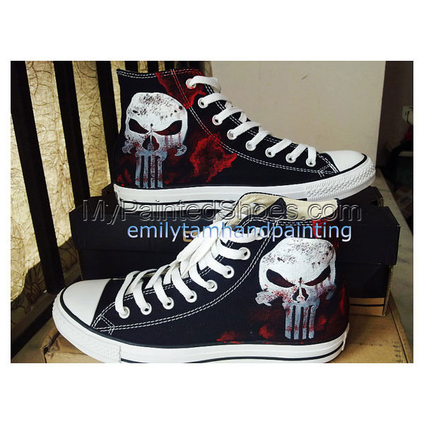 Custom High Top Sneakers High-top Painted Canvas Shoes