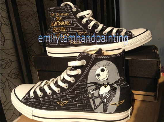 The Nightmare Before Christmas Custom Shoes-1