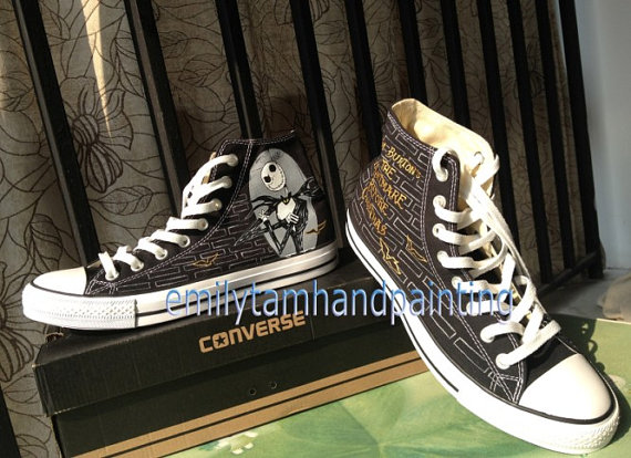 The Nightmare Before Christmas Custom Shoes-2