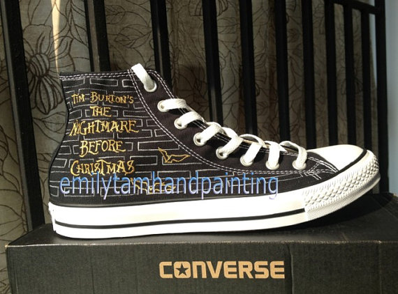 The Nightmare Before Christmas Custom Shoes-3