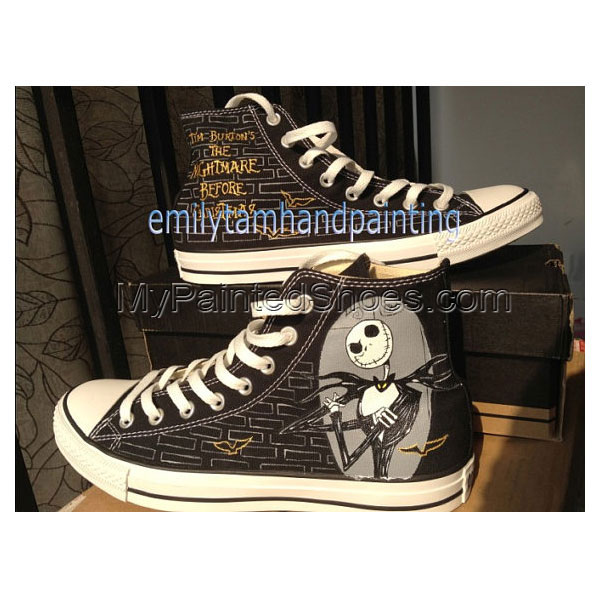 The Nightmare Before Christmas Custom Shoes