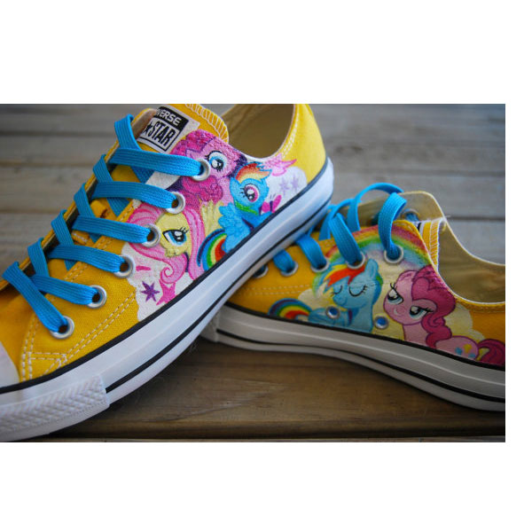 My Little Pony Shoes My Little Pony Painted Shoes