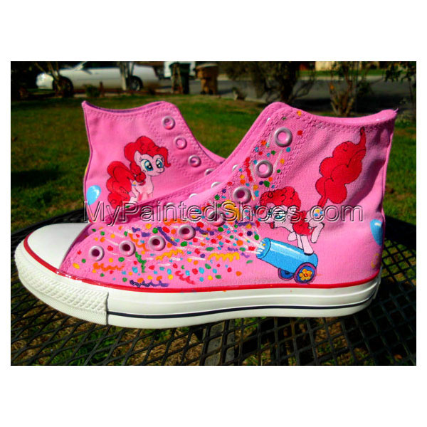 My Little Pony High-top Painted Canvas Shoes