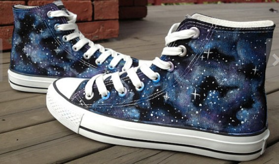 Custom Galaxy Shoes-1