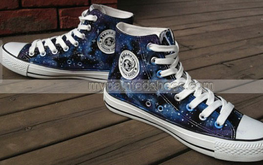 Custom Galaxy Shoes-2