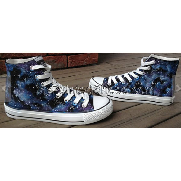Custom Galaxy Shoes