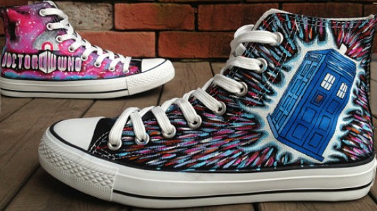 Doctor Who Shoes Galaxy Shoes-1