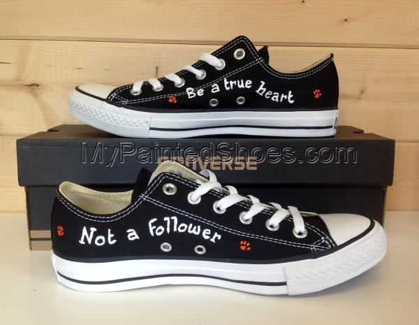 Ed Sheeran Low Top Painted Canvas Shoes-1