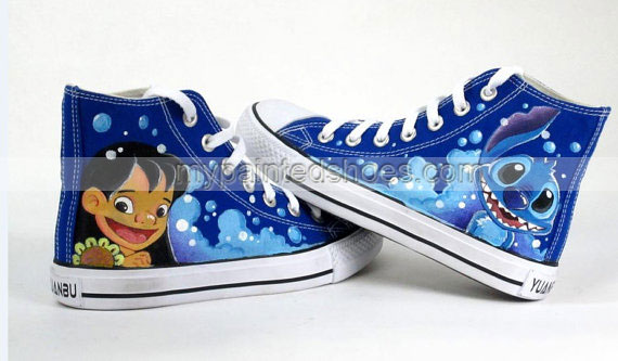 Stitch anime Lilo Stitch shoes custom sneaker shoes Lilo & Stitc-2