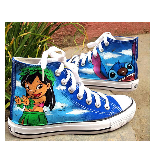 Stitch anime Lilo Stitch shoes custom sneaker shoes Lilo & Stitc