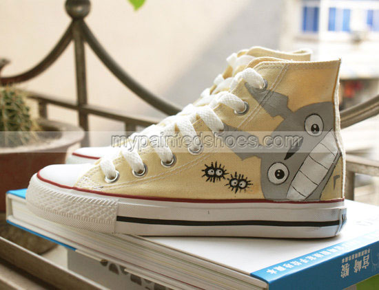 totoro anme shoes with three color-4