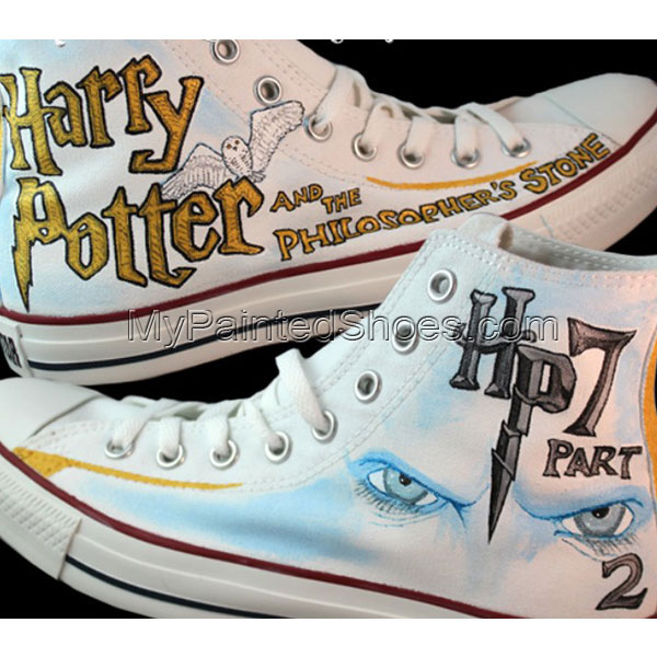 Harry Potter and the Philosopher's Stone Part 2 Custom Sneaker