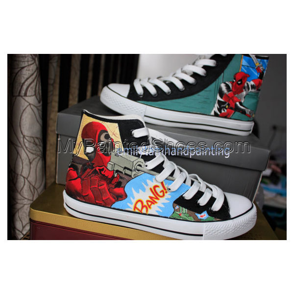 Anime Custom Sneakers Anime Hand Painted Shoes