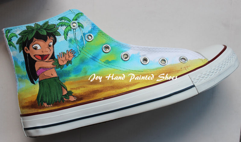 Custom Sneakers Customize Anime Hand Painted Shoes-2
