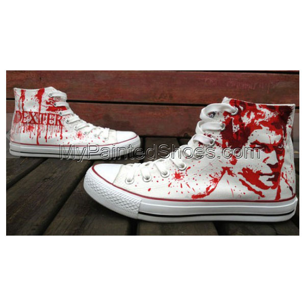 Dare You To wear Them! Dexter Shoes Dexter Morgan Hand Painted S