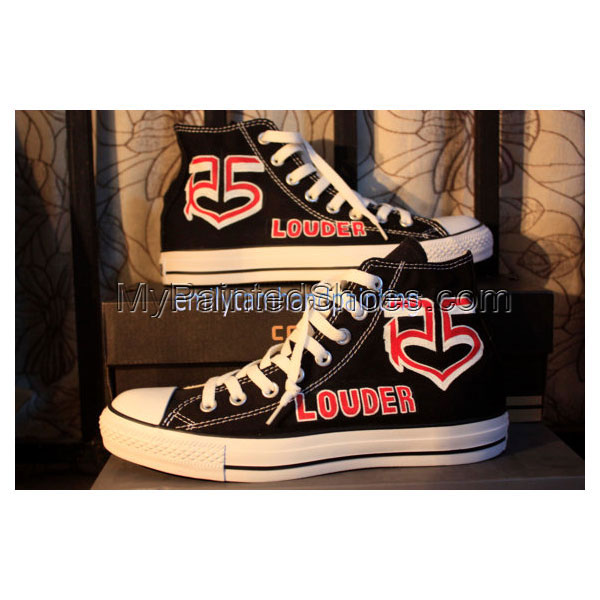 R5 Shoes I Love R5 Design Custom Shoes R5 Themed