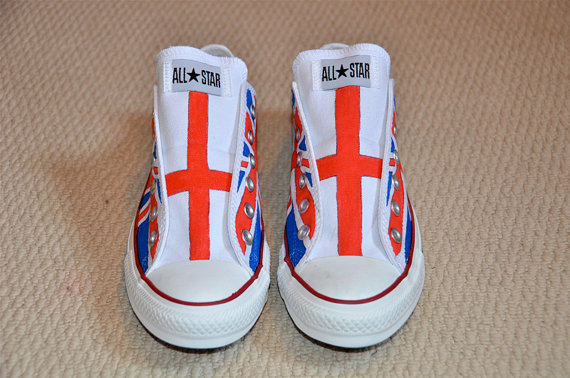 Union Jack on  All Stars - Adult size-2