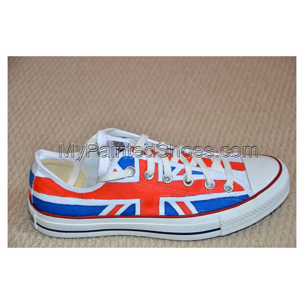 Union Jack on  All Stars - Adult size