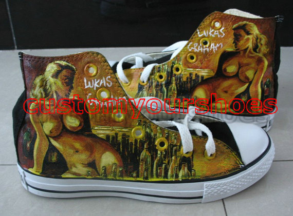 128fefd2967d custom converse lukas graham handpainted shoes can do any theme