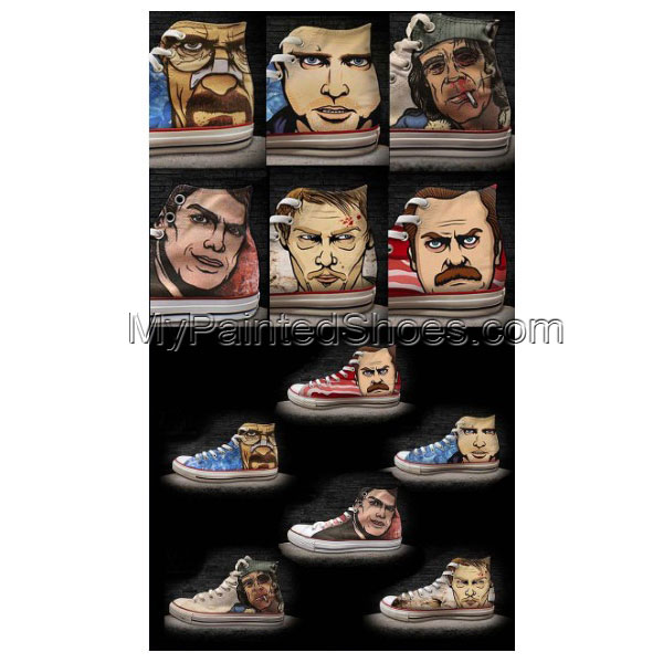 Breaking Bad Custom handpainted canvas shoes