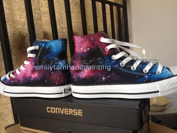 Just Fall in Love with Galaxy Design-Red Pink Blue Galaxy Conver-3