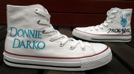 Donnie Darko Shoes Custom Hand Painted Shoes-1